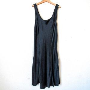 100% Black Silk Mini Dress VICTORIAS SECRET SZ S